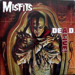 MISFITS - DEA.D. ALIVE (1 LP) - WYDANIE AMERYKŃSKIE