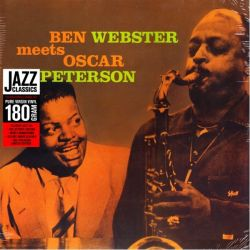 WEBSTER, BEN /PETERSON, OSCAR - BEN WEBSTER MEETS OSCAR PETERSON (1 LP) - JAZZ WAX EDITION - 180 GRAM PRESSING