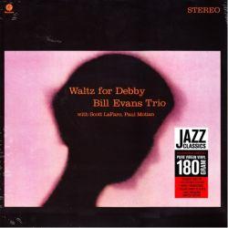 EVANS, BILL - WALTZ FOR DEBBY (1LP) - 180 GRAM PRESSING