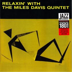 DAVIS, MILES - RELAXIN' WITH THE MILES DAVIS QUINTET (1 LP) - JAZZ WAX EDITION - 180 GRAM PRESSING
