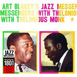 BLAKEY, ART & JAZZ MESSENGERS - ART BLAKEY WITH THELONIOUS MONK (1LP) - 180 GRAM PRESSING