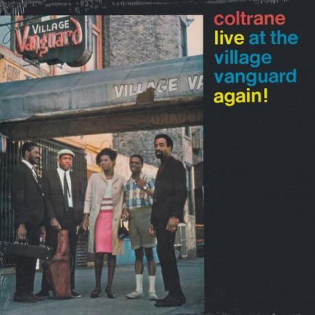 COLTRANE, JOHN - LIVE AT THE VILLAGE VANGUARD AGAIN! (1LP) - 180 GRAM PRESSING