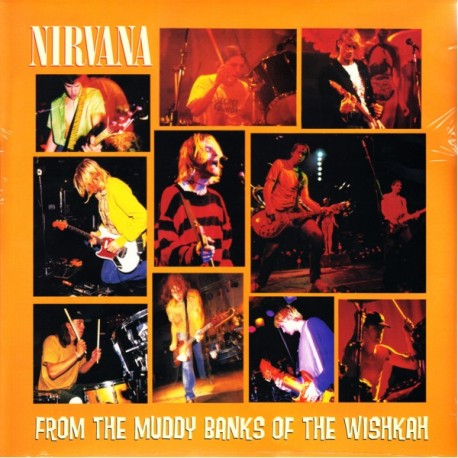 NIRVANA - FROM THE MUDDY BANKS OF THE WISHKAH (1LP) - WYDANIE AMERYKAŃSKIE