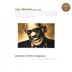 CHARLES, RAY - GENIUS LOVES COMPANY: 10TH ANNIVERSARY EDITION (2LP+MP3 DOWNLOAD)  - 180 GRAM PRESSING - WYDANIE AMERYKAŃSKIE