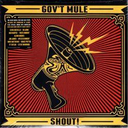 GOV'T MULE - SHOUT (2LP) - 180 GRAM RED & GOLD VINYL PRESSING - WYDANIE AMERYKAŃSKIE