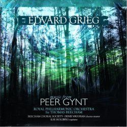 GRIEG, EDVARD - PEER GYNT - THOMAS BEECHAM & ROYAL PHILHARMONIC ORCHESTRA (1LP)