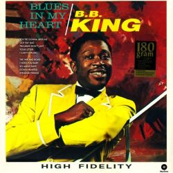 KING, B.B. - BLUES IN MY HEART (1LP) - WAX TIME EDITION - 180 GRAM PRESSING