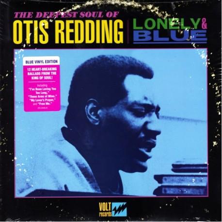 REDDING, OTIS - LONELY & BLUE (1LP) - BLUE VINYL EDITION