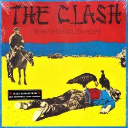 CLASH, THE - GIVE'EM ENOUGH ROPE (1 LP) - 180 GRAM PRESSING - WYDANIE AMERYKAŃSKIE