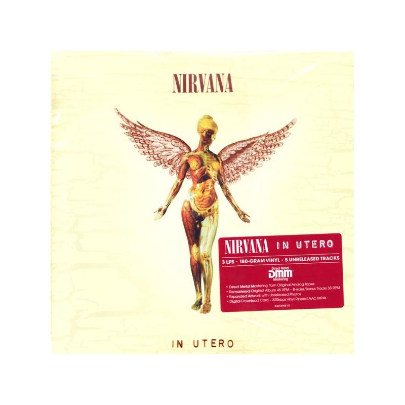 Nirvana In Utero 3 Lp Mp3 Download 45 Rpm 180