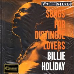 HOLIDAY, BILLIE - SONGS FOR DISTINGUE LOVERS (2 LP) - 45 RPM - ANALOGUE PRODUCTIONS - 180 GRAM PRESSING - WYDANIE AMERYKAŃSKIE
