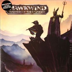 HAWKWIND - MASTERS OF THE UNIVERSE (1LP) - LIMITED COLOURED 180 GRAM VINYL  PRESSING