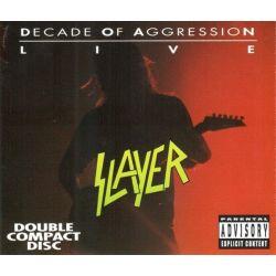 SLAYER - LIVE DECADE OF AGGRESSION (2CD) - WYDANIE AMERYKAŃSKIE