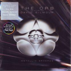 ORB, THE FEATURING DAVID GILMOUR (PINK FLOYD) - METALLIC SPHERES (2 LP + MP3 DOWNLOAD) - 180 GRAM PRESSING - USA