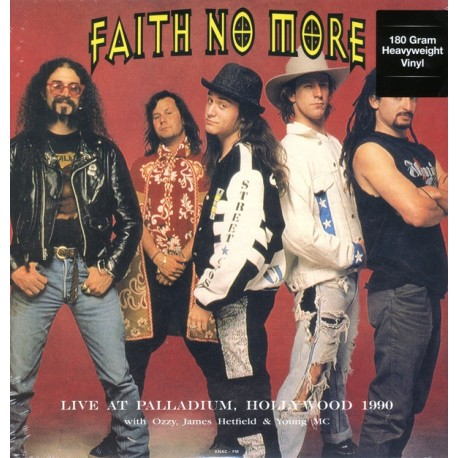 FAITH NO MORE - LIVE AT PALLADIUM, HOLLYWOOD 1990 (1LP) - 180 GRAM PRESSING