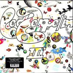 LED ZEPPELIN - III (1 LP) - 2014 REMASTERED EDITION - 180 GRAM PRESSING - WYDANIE AMERYKAŃSKIE