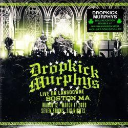 DROPKICK MURPHYS - LIVE IN LANSDOWNE: BOSTON (2 LP + CD) - DELUXE EDITION 180 GRAM GREEN VINYL PRESSING - WYDANIE AMERYKAŃSKIE