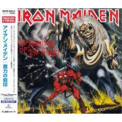 IRON MAIDEN - THE NUMBER OF THE BEAST (1 CD) - WYDANIE JAPOŃSKIE