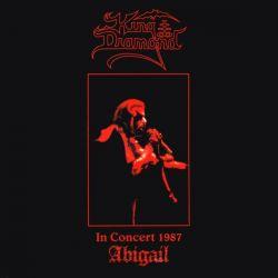 KING DIAMOND - IN CONCERT 1987: ABIGAIL (1LP) - 180 GRAM RED VINYL PRESSING - WYDANIE AMERYKAŃSKIE