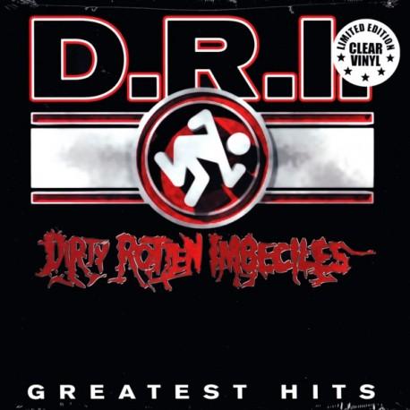 D.R.I.(DIRTY ROTTEN IMBECILES) - GREATEST HITS (1LP) - MILLENIUM EDITION - WYDANIE AMERYKAŃSKIE