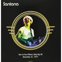 SANTANA - LIVE AT THE COW PALACE, DALY CITY CA, DECEMBER 31, 1977 (2 LP) - 180 GRAM PRESSING