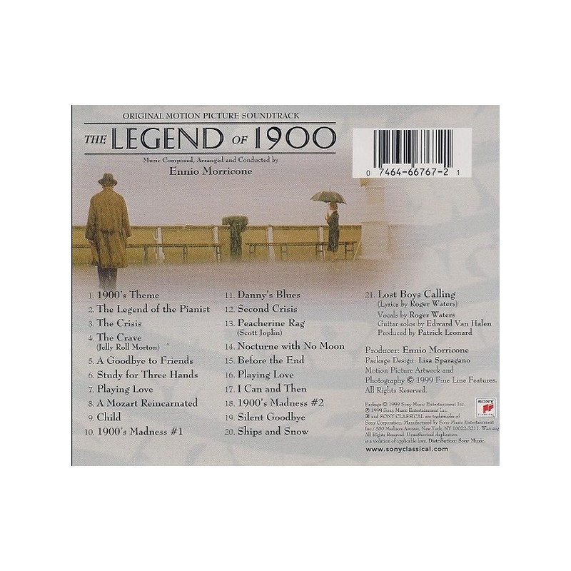 The Legend of Ennio Morricone - 29 MAR 2020