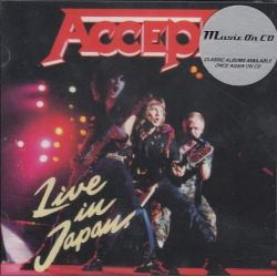 ACCEPT - LIVE IN JAPAN (1 CD)