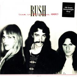 RUSH - LIVE IN ST. LOUIS 1980 (2LP) - 180 GRAM PRESSING