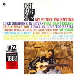 BAKER, CHET - CHET BAKER SINGS (1 LP) - WAX TIME EDITION - 180 GRAM PRESSING