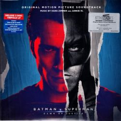 BATMAN V. SUPERMAN: DAWN OF JUSTICE - HANS ZIMMER & JUNKIE XL (3 LP) - MOV EDITION - 180 GRAM PRESSING