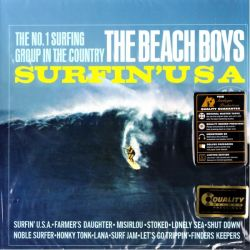BEACH BOYS, THE - SURFIN' USA (1 LP) - LIMITED MONO EDITION - 200 GRAM PRESSING - WYDANIE AMERYKAŃSKIE