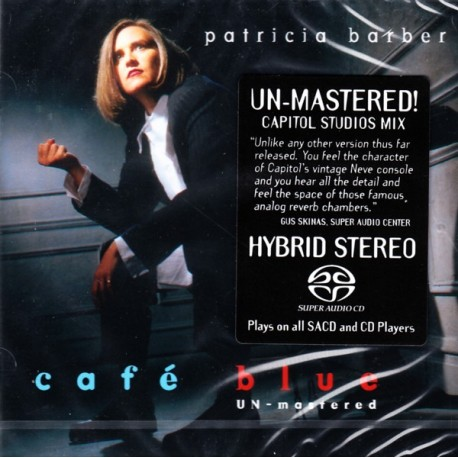 BARBER, PATRICIA - CAFE BLUE (1SACD) - UN-MASTERED - WYDANIE AMERYKAŃSKIE