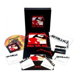 METALLICA - KILL 'EM ALL (4LP+5CD+1DVD) - LIMITOWANA, NUMEROWANA EDYCJA - BOX - WYDANIE AMERYKAŃSKIE 2016