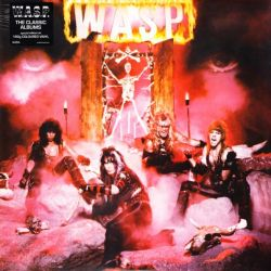 W.A.S.P. - W.A.S.P (1 LP) - LIMITED TRANSPARENT RED 180 GRAM PRESSING VINYL