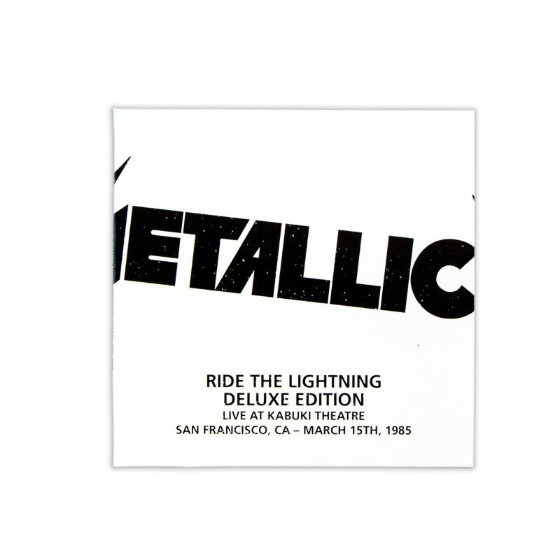 Metallica Ride The Lightning 4 Lp 6 Cd 1 Dvd