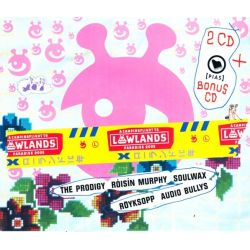 LOWLANDS SAMPLER 2005 - RÖYKSOPP / GENTLEMAN / NICK CAVE / NIGHTWISH / THE PRODIGY / FAT FREDDY'S DROP (3 CD)