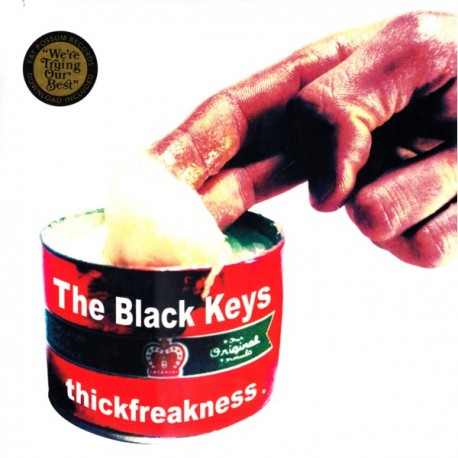 BLACK KEYS, THE - THICKFREAKNESS (1LP+MP3 DOWNLOAD) - 180 GRAM PRESSING