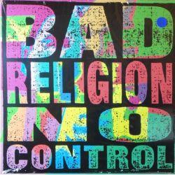 BAD RELIGION - NO CONTROL (1 LP) - LIMITED BLUE VINYL EDITION - WYDANIE AMERYKAŃSKIE