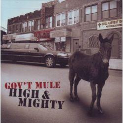 GOV'T MULE - HIGH & MIGHTY (1 CD) - WYDANIE AMERYKAŃSKIE