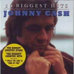 CASH, JOHNNY - 16 BIGGEST HITS (1 CD) - WYDANIE AMERYKAŃSKIE