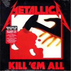 METALLICA - KILL 'EM ALL (1 LP) - 2016 REMASTERED EDITION - WYDANIE AMERYKAŃSKIE