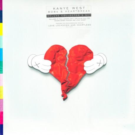 WEST, KANYE - 808S & HEARTBREAK (2 LP + CD) - WYDANIE AMERYKAŃSKIE