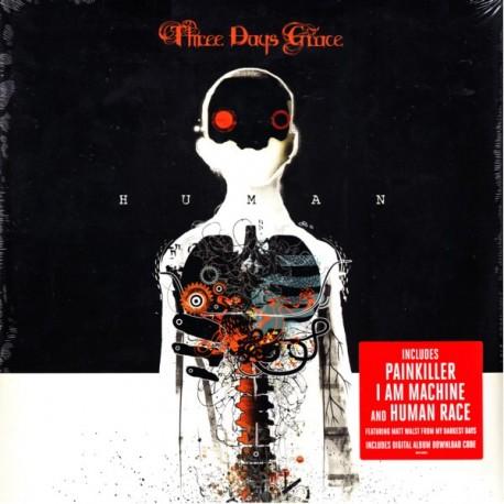 THREE DAYS GRACE - HUMAN (1 LP) - WYDANIE AMERYKAŃSKIE