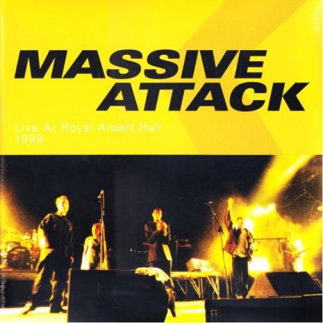 MASSIVE ATTACK - LIVE AT ROYAL ALBERT HALL 1998 (2LP)