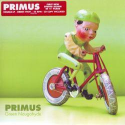 PRIMUS - GREEN NAUGAHYDE (2LP+CD) - 45RPM GREEN VINYL - WYDANIE AMERYKAŃSKIE