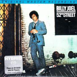 JOEL, BILLY - 52ND STREET (1 SACD) - LIMITED NUMBERED MFSL EDITION - WYDANIE AMERYKAŃSKIE
