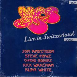 YES - LIVE IN SWITZERLAND 2003 (3 LP)