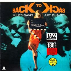 DAVIS, MILES & BLAKEY, ART - BACK TO BACK (1 LP) - WAX TIME EDITION - 180 GRAM PRESSING