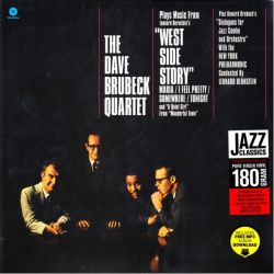 """BRUBECK, DAVE QUARTET -PLAYS MUSIC FROM """"WEST SIDE STORY"""" AND OTHER WORKS (1 LP) - 180 GRAM PRESSING"""