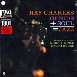 CHARLES, RAY - GENIUS PLUS SOUL IS EQUAL TO JAZZ (1 LP) - 180 GRAM PRESSING